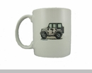 "JK Wrangler 4D ""Where's Your Playground"" Mug by All Things Jeep"