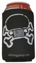 Jeep Skull & Crossbones Koozie Set of 2