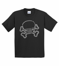 Jeep Skull & Crossbones Youth Short Sleeve Unisex Tee