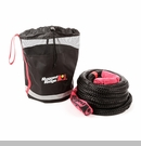 "Kinetic Recovery Rope 7/8"" x 30' w/Storage Bag Black - 7500 lbs Rated"