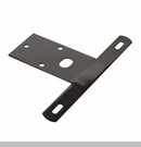 License Plate Bracket for Jeep CJ Models 1976-1986 in Black by Omix-ADA