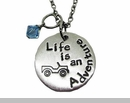 Life is an Adventure Jeep Necklace
