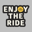 Life is Good Decal - Enjoy the Ride