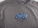 "Life is Good Men's Long Sleeve ""Offroad Jeep"" Tee (Chocolate Brown)"
