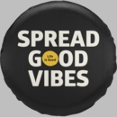 Life is Good Tire Cover Spread Good Vibes