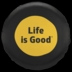 Life is Good Tire Cover Sunshine
