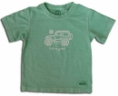 """Life is Good � Toddler's """"Native Jeep"""" Short Sleeve Tee (Cricket Green)"""