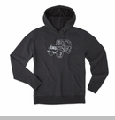 Life is good Unisex Jeep Go To Soft Hoodie-Black