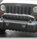 Bumper Mounting Light Bar Wrangler JK 2007-2017 Front Rugged Ridge