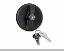 Locking Gas Cap for Jeep Wrangler, GC, Lib, and Comd