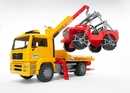 MAN TGA Tow Truck with Jeep Wrangler