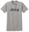 Men's T-Shirt with Dark Gray Jeep Logo