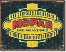 Mopar 1937-1947 Logo Metal Sign