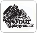 Mousepad - Where's Your Playground? Liberty