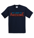 "Closeout - ""My Jeep is Awesome"" Youth Tee - Navy"