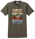 National Parks Men's T-Shirt in Olive
