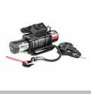 Nautic Winch/Waterproof with Synthetic Rope - 12,500 lbs Rated