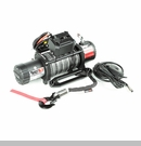 Nautic Winch/Waterproof with Synthetic Rope - 9,500 lbs Rated