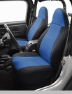 Neoprene Front Seat Covers-Jeep YJ 1991-1995,NON-RECLINING Seats