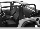 Neoprene Front Seat Covers-Jeep Wrangler YJ 1991-1995 w/Recliner
