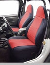 Neoprene Front Seat Covers for Jeep YJ 1987-1990, CoverKing