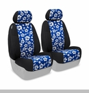 Neoprene Front Seat Covers Hawaiian Prints Jeep JK 2 Door 2014-2017