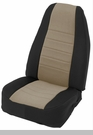 Neoprene Seat Cover Set Wrangler JK 2D 2007-2012 Tan by Smittybilt