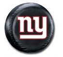 New York Giants NFL Tire Cover - Black Vinyl