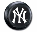 New York Yankees MLB Tire Cover - Black Vinyl