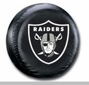 Oakland Raiders NFL Tire Cover - Black Vinyl