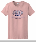 Pink Authentic Jeep� T-Shirt, Short sleeve