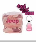 Pink Jeep Girl Gift Set