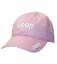 Pink Jeep Hat with Jeep Logo