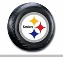 Pittsburgh Steelers NFL Tire Cover - Black Vinyl