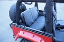 Rampage Rear Seat Covers for Jeep Wrangler TJ and LJ (2003-2006)