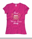 Real Women Drive Jeep, Pink Junior's Tee