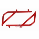 Rear Rigid Grab Handle for Wrangler 2007-2017 2DR Red by Steinjager