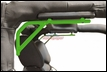 Rear Rigid Grab Handle for Wrangler 2007-2017 2DR Neon Green by Steinjager
