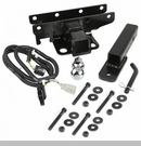 Receiver Hitch w/ Wire & 1-7/8 Inch Ball Wrangler 2007-2017 - 2 Inch