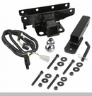 Receiver Hitch w/ Wire & 2 Inch Ball Wrangler 2007-2017 - 2 Inch