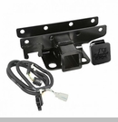 Receiver Hitch w/Wire & Rugged Ridge Plug Wrangler JK 2007-2017 2 Inch