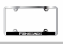 Renegade Wide Body Laser Etched ABS Frame - Chrome
