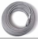 "Replacement Steel Winch Cable, 23/64"" x 94 feet for 10,500 lbs Winch"