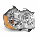 Headlight w/o Fog Lights Passenger Side Grand Cherokee WK 2005-2010