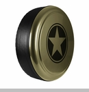 Freedom Star Design in Commando Green, Rigid Tire Cover