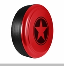 Freedom Star Design in Firecracker Red, Rigid Tire Cover