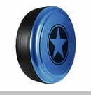 Freedom Star Design in Surf Blue Pearlcoat, Rigid Tire Cover