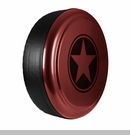 Freedom Star Design in Red Rock Crystal Pearlcoat, Rigid Tire Cover