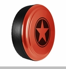 Freedom Star Design in Sunburst Orange, Rigid Tire Cover