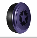 Freedom Star Design in Xtreme Purple, Rigid Tire Cover
